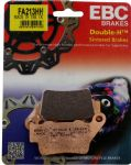 "STREET TRIPLE 675 & R 2013on: REAR BRAKE PADS Sintered ""HH"" 1 Set EBC FA213HH. Brembo Caliper."